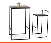 Table haute et mange-debout - Alterego Design
