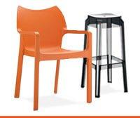 Buitenstoelen en buitenkrukken - Alterego Design