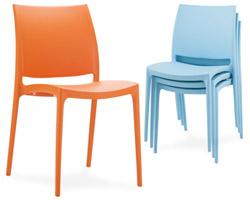 Chaise empilable et pratique - Alterego Design