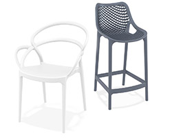 Chaises et tabourets de jardin Alterego Design