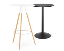 Table haute et mange-debout Alterego Design