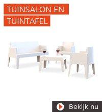 Tuinsalons en tuintafels - Alterego Design