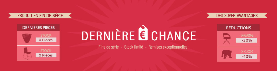 Déstockage Alterego Design - Remises sur meubles en fin de série !