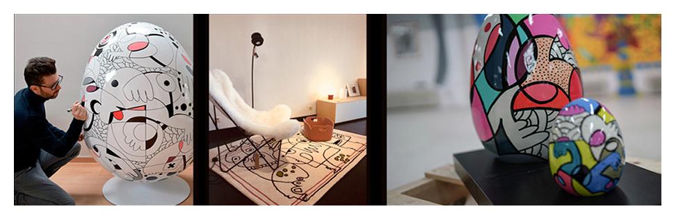 Tapis design MOSHI - Alterego Design - 03