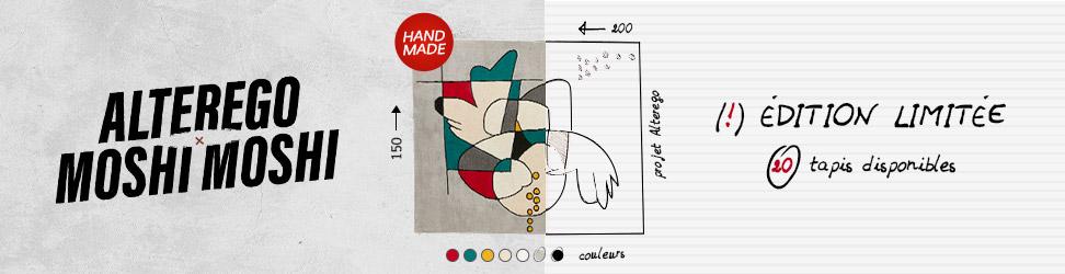 Tapis design MOSHI - Alterego Design - 02