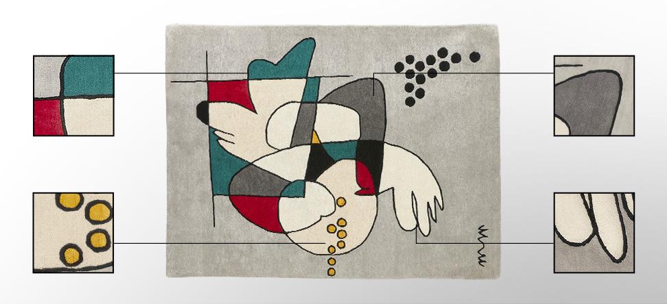Tapis design MOSHI - Alterego Design - 01