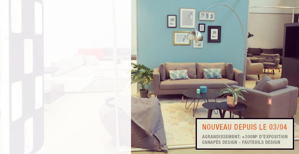 Magasin de meubles Alterego Design a Liege - Alleur