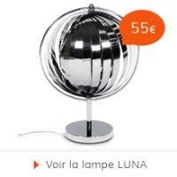 Rentree 2015 Alterego - Lampe de bureau LUNA
