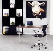 Decoration de bureau dans le salon/la chambre - Alterego Design