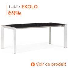 Decoration Classique - Table de salle à manger EKOLO