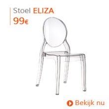 Eigentijds - Designstoel ELIZA transparant