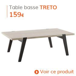 Decoration Scandinave - Table basse TRETO