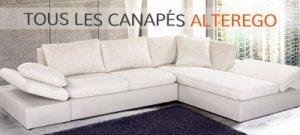 Tous les canapés Alterego Design