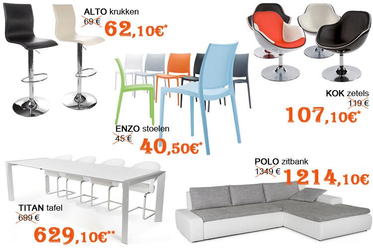 Selectie van Alterego Design meubelen- Winterkoopjes 2015