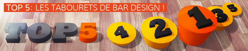 Les tabourets de bar design - TOP 5