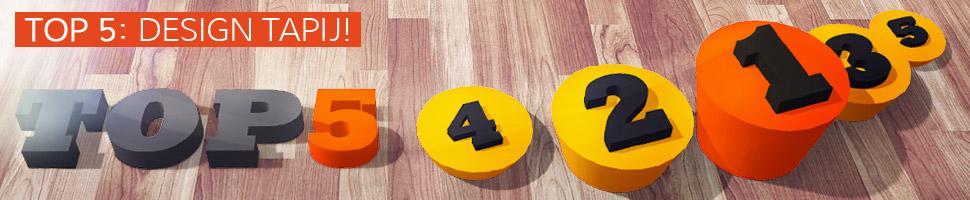 Design tapijten - TOP 5
