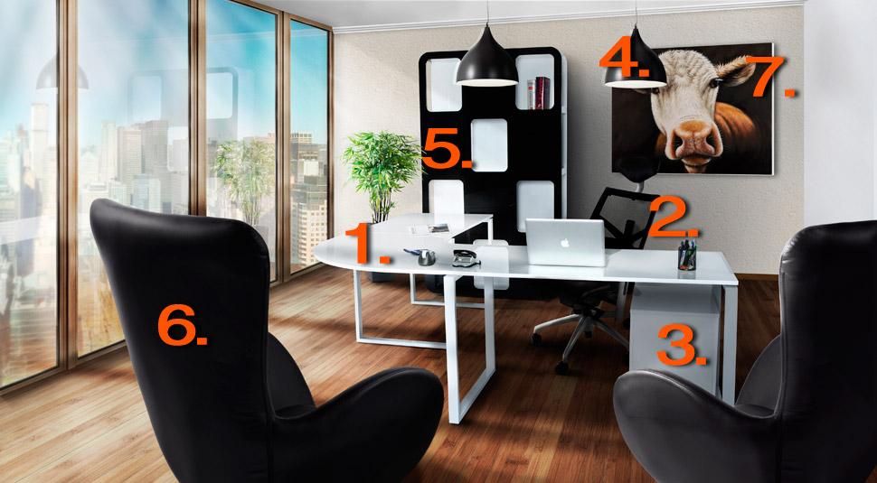 Espace de travail / bureau - Alterego Design