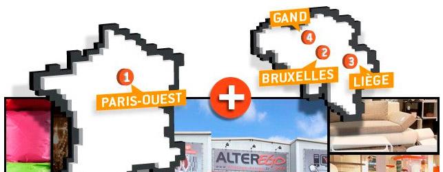 Extension magasin meubles à Liège