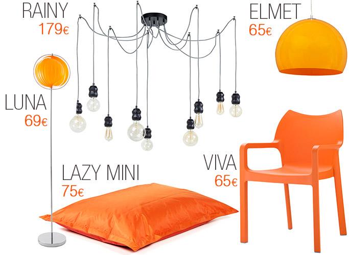 Les meubles colorés pour Halloween - Alterego Design