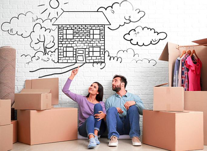 Een nieuwe woning te kiezen?