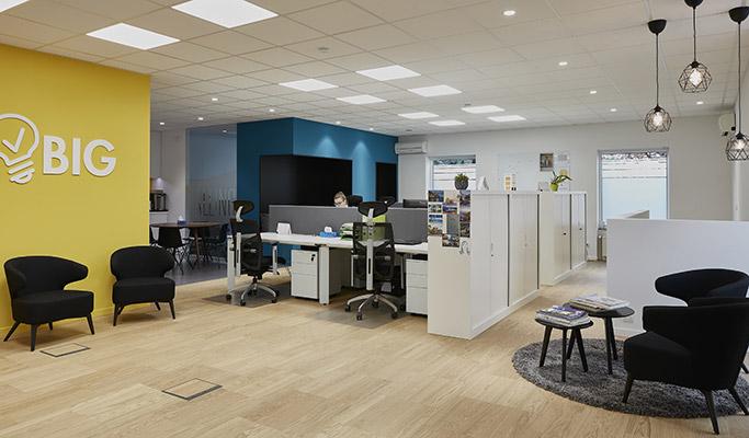Aménagement des bureaux d'entreprise - Votre image de marque 01