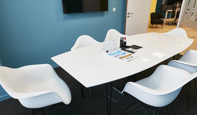Aménagement des bureaux d'entreprise - Salle de réunion