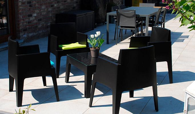 Coin lounge de jardin et terrasse