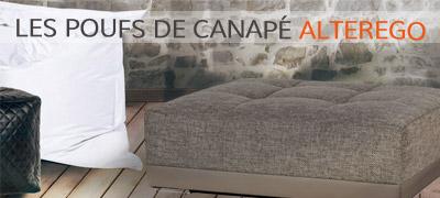 Tous les poufs de canapé Alterego Design