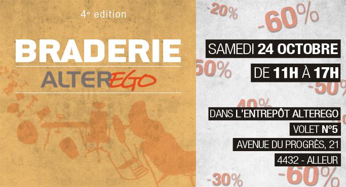 Braderie Alterego - 4e edition