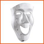 Alterego deco voorwerpen - SMILE wandmasker