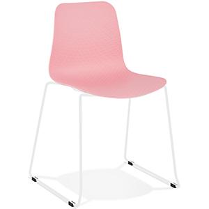 Chaise de jardin rose EXPO