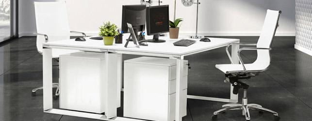 Nouveau mobilier de bureau - Collection XLINE