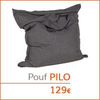 Coin déco - Pouf géant PILO