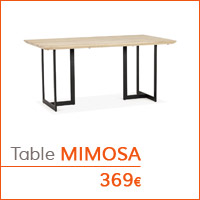 Mon premier appartement - Table MIMOSA