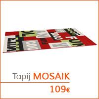 Mijn eerste appartementje - MOSAIK tapij