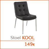 Eetkamer meubelen - Stoel KOOL