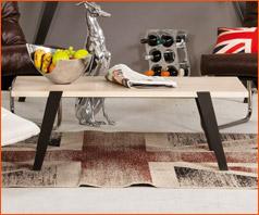 Binnenhuisdecoratie volgens Alterego - Lage salontafel