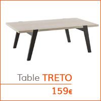 Mobilier de salon - Table basse TRETO