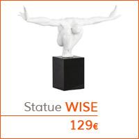Mobilier de salon - Statue WISE
