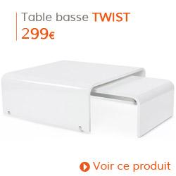 Decoration contemporaine - Table basse TWIST