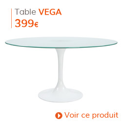 Decoration Vintage - Table ronde VEGA