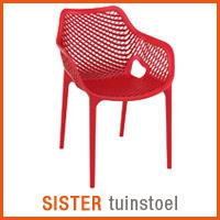 Alterego tuinmeubelen - SISTER stoel