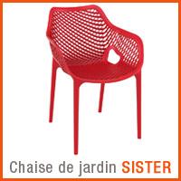 Meuble de jardin Alterego - Chaise SISTER