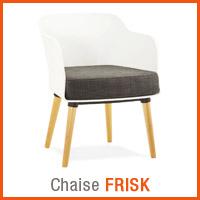 Meubles scandinaves Alterego - Chaise FRISK