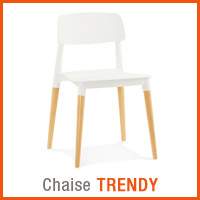 Meubles scandinaves Alterego - Chaise TRENDY
