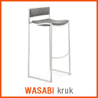 Meubles scandinaves Alterego - Tabouret WASABI