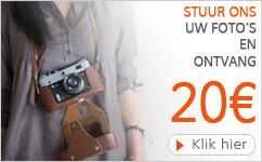 Stuur ons uw foto's en ontvang 20€ - Alterego Design