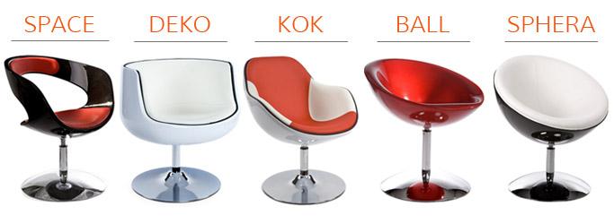 Les fauteuils boules Alterego Design