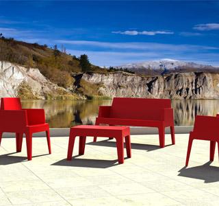 Kit de jardin PLEMO rouge - Alterego Design