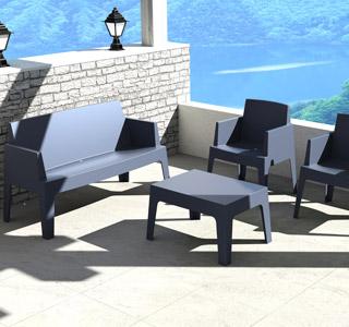 Kit de jardin PLEMO bleu foncé - Alterego Design